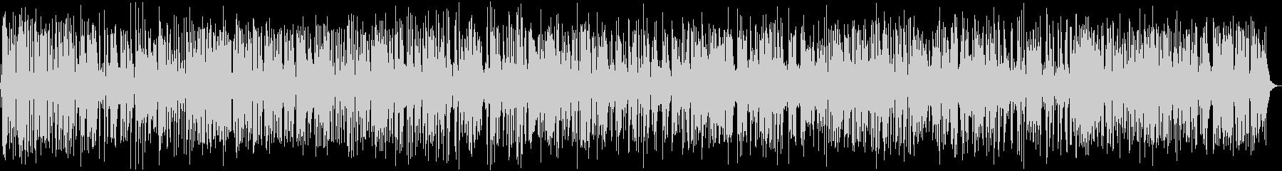 ジャズピアノのおしゃれカフェBGMの未再生の波形