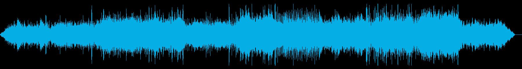 デジタルで陰鬱なミステリアスなIDMの再生済みの波形