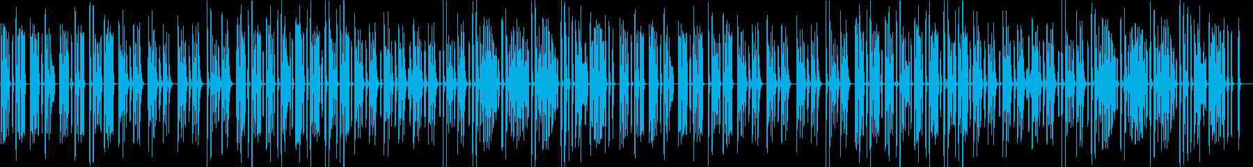 猫・ほのぼの・日常・リコーダー・マリンバの再生済みの波形