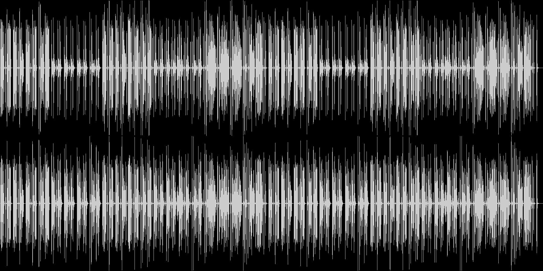 猫・ほのぼの・日常・リコーダー・マリンバの未再生の波形