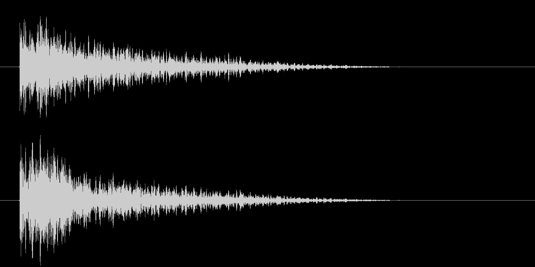 きゅるりんの未再生の波形