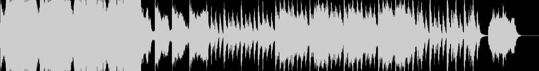 ダークファンタジー 荘厳なオーケストラの未再生の波形