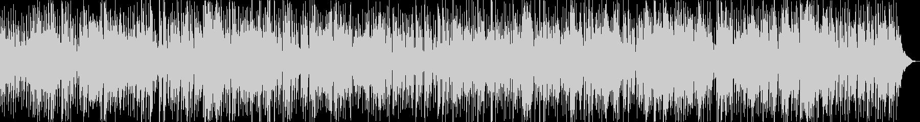 ノリの良いサックスメインのスムースジャズの未再生の波形