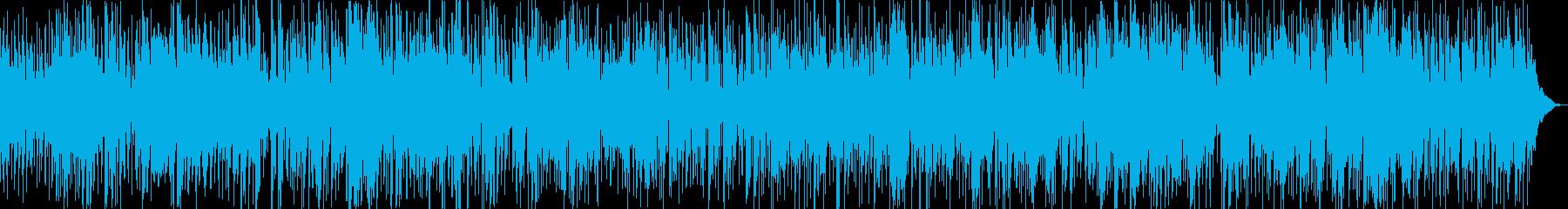 ノリの良いサックスメインのスムースジャズの再生済みの波形