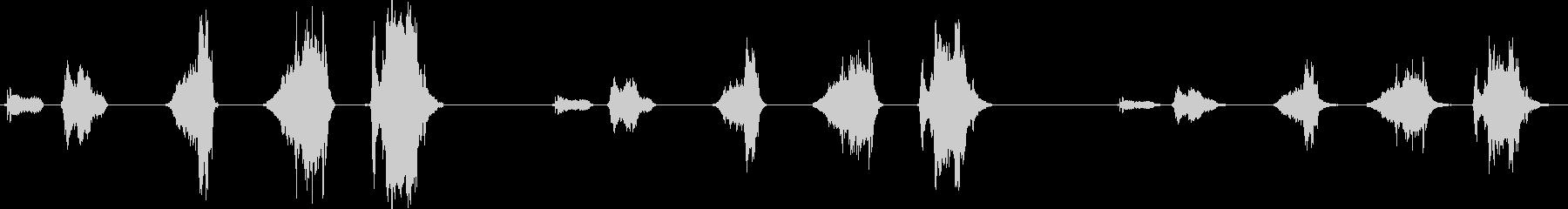 ダークローププル、3バージョンX ...の未再生の波形