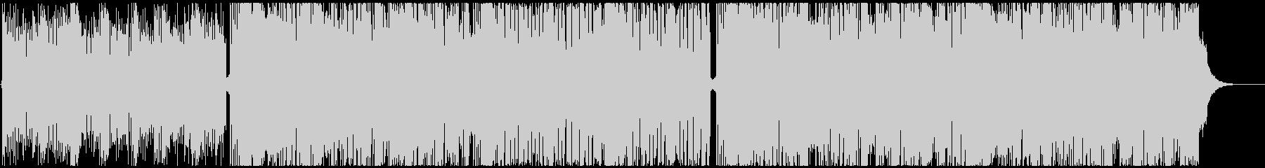 シンセベースとギターメインのビッグビートの未再生の波形