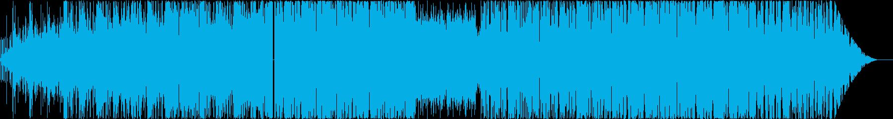 浮遊感あるメロディックダブステップの再生済みの波形