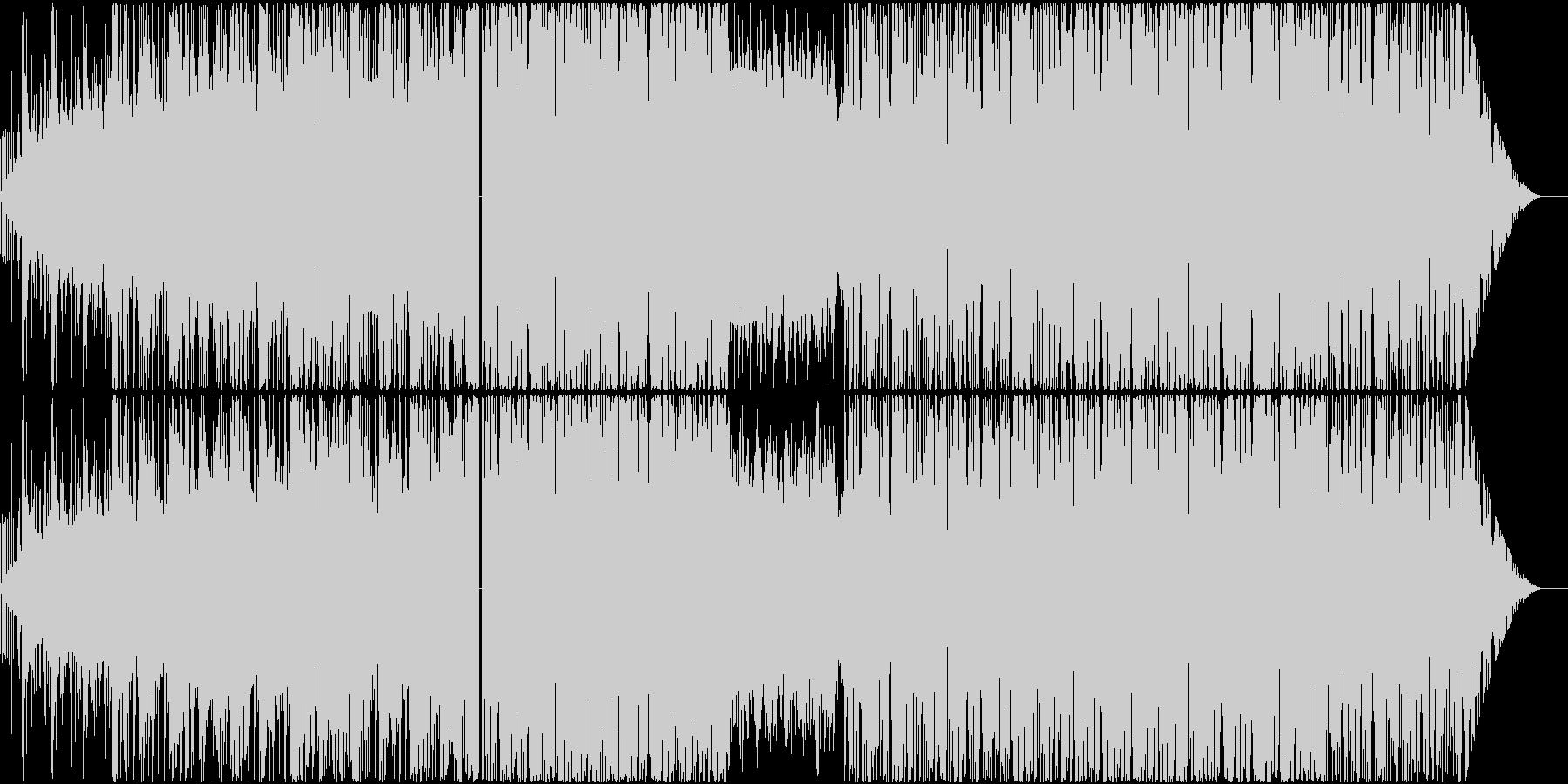 浮遊感あるメロディックダブステップの未再生の波形