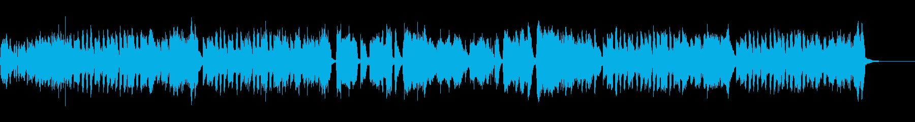 可愛らしいポップで軽快な教育番組BGMの再生済みの波形