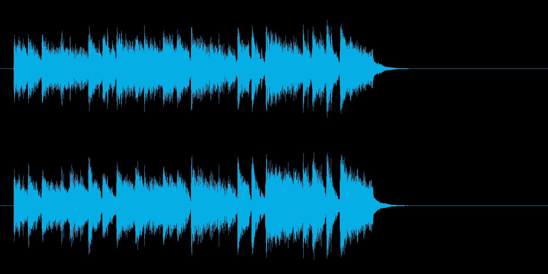リゾート風ポップバラード(イントロ)の再生済みの波形