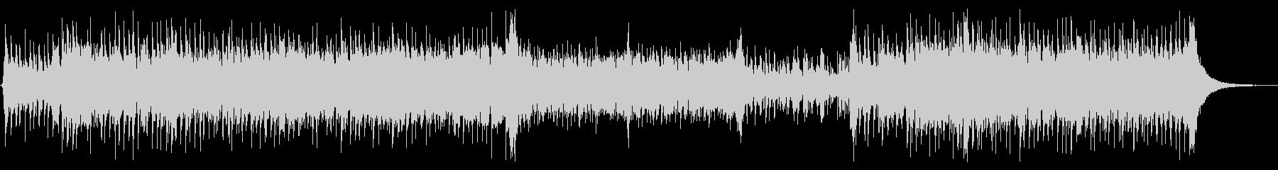 スラップベースと和太鼓 ドラム無版の未再生の波形