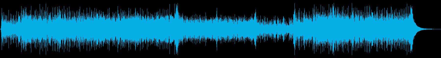 スラップベースと和太鼓 ドラム無版の再生済みの波形