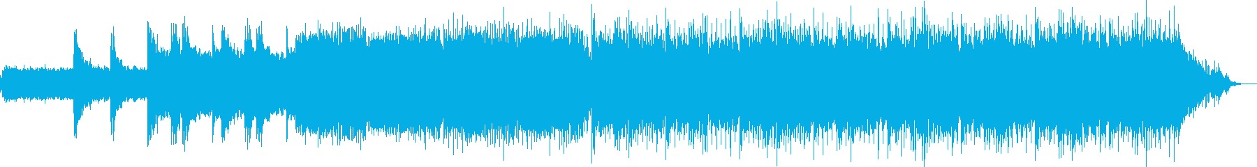 エアリアル サスペンス 説明的 繰...の再生済みの波形