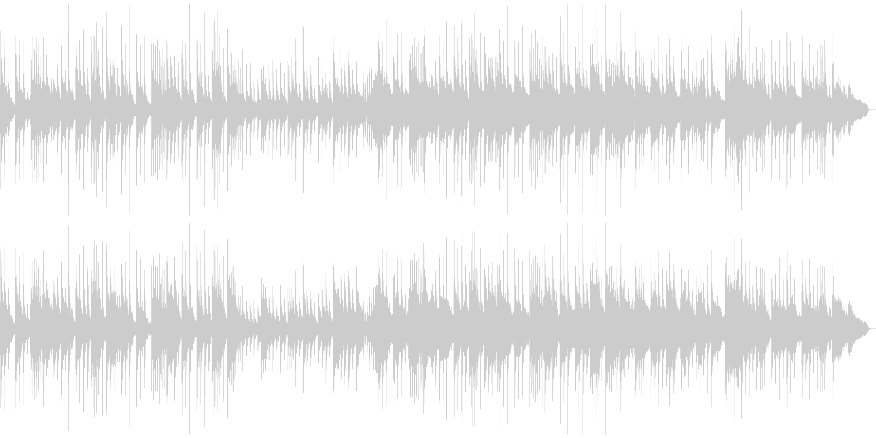 琴/ピアノ/落ち着いた癒しの和風曲の未再生の波形