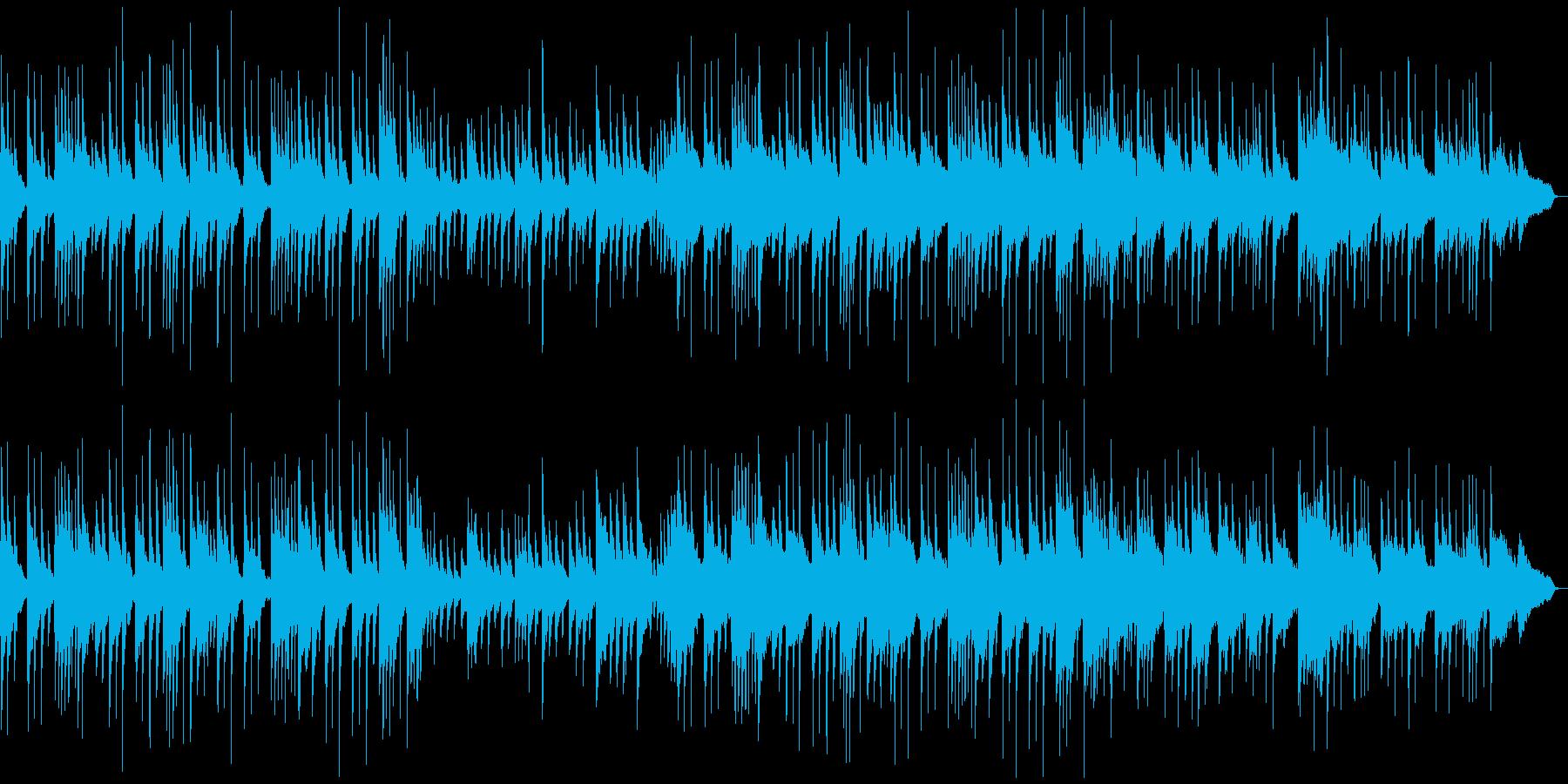 琴/ピアノ/落ち着いた癒しの和風曲の再生済みの波形