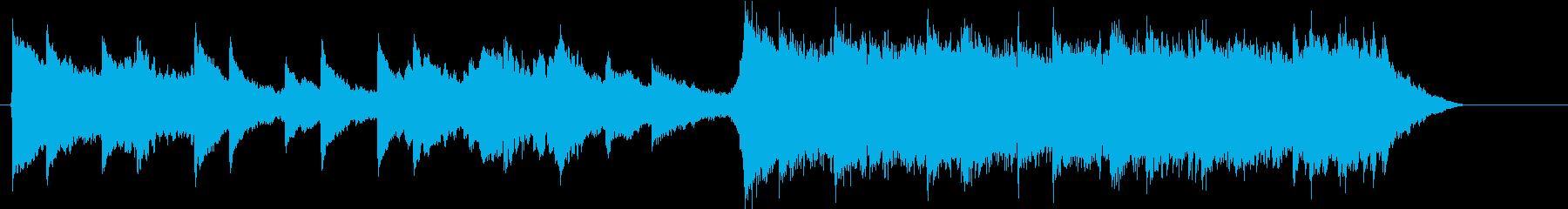 ピアノとストリングス 壮大の再生済みの波形