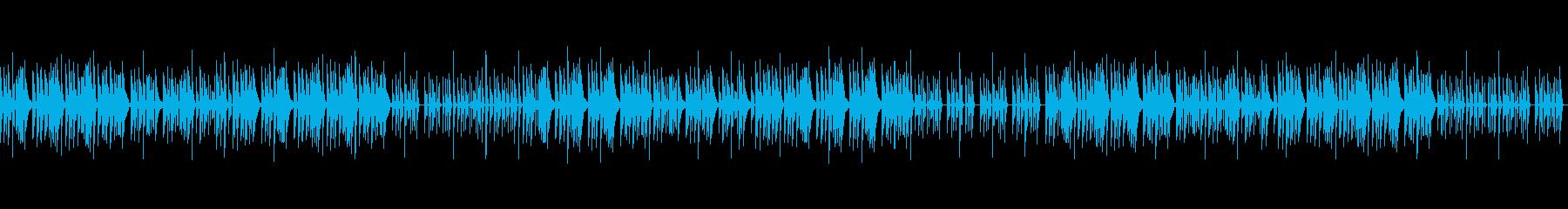 和風な琴のこども向け知育BGM_Aの再生済みの波形