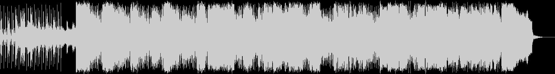 エスニック風BGMの未再生の波形
