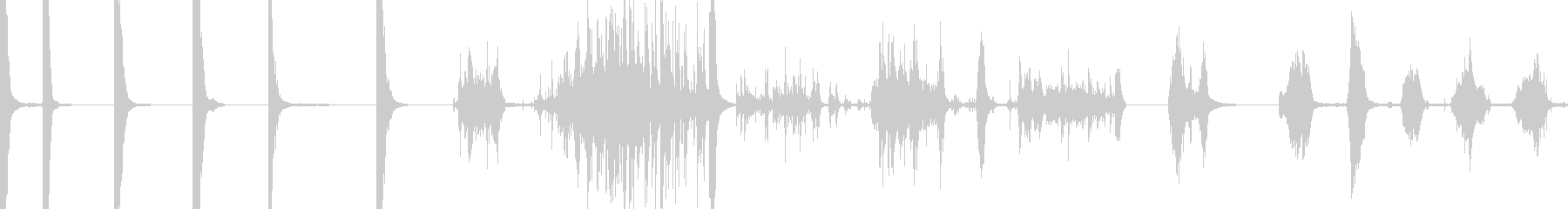 メタルバレルヒット、8テイク、バレ...の未再生の波形