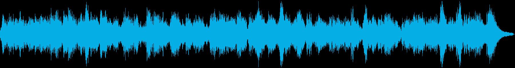 癒されるローズピアノサウンドの再生済みの波形