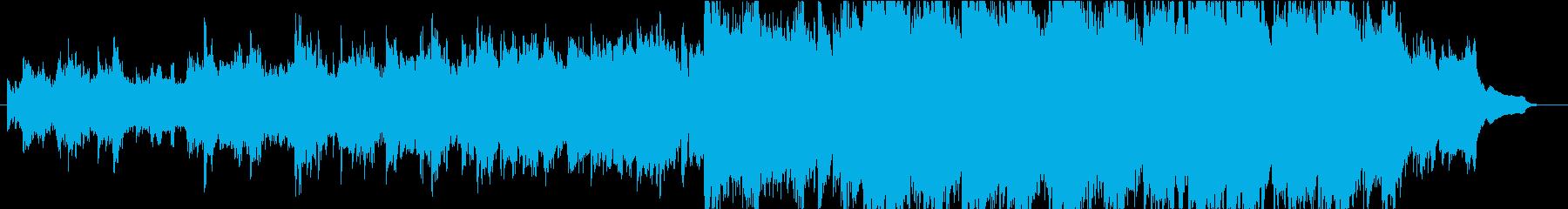 弦楽器が織りなすハーモニーの再生済みの波形