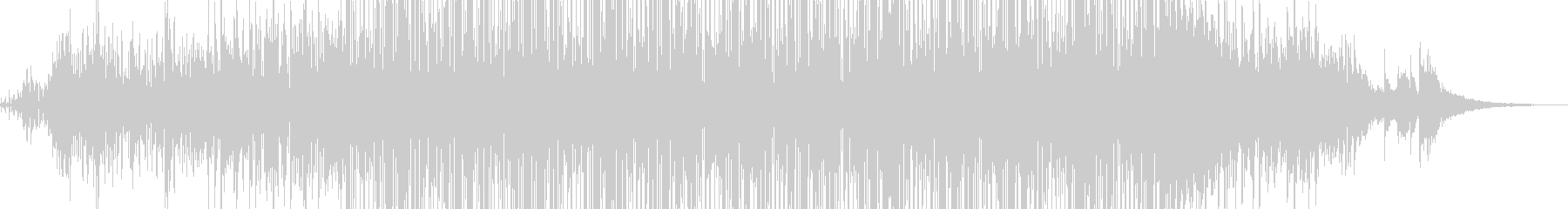 KANT無機質混沌BGM200611の未再生の波形