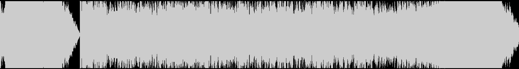 インダストリアルロック系BGMの未再生の波形