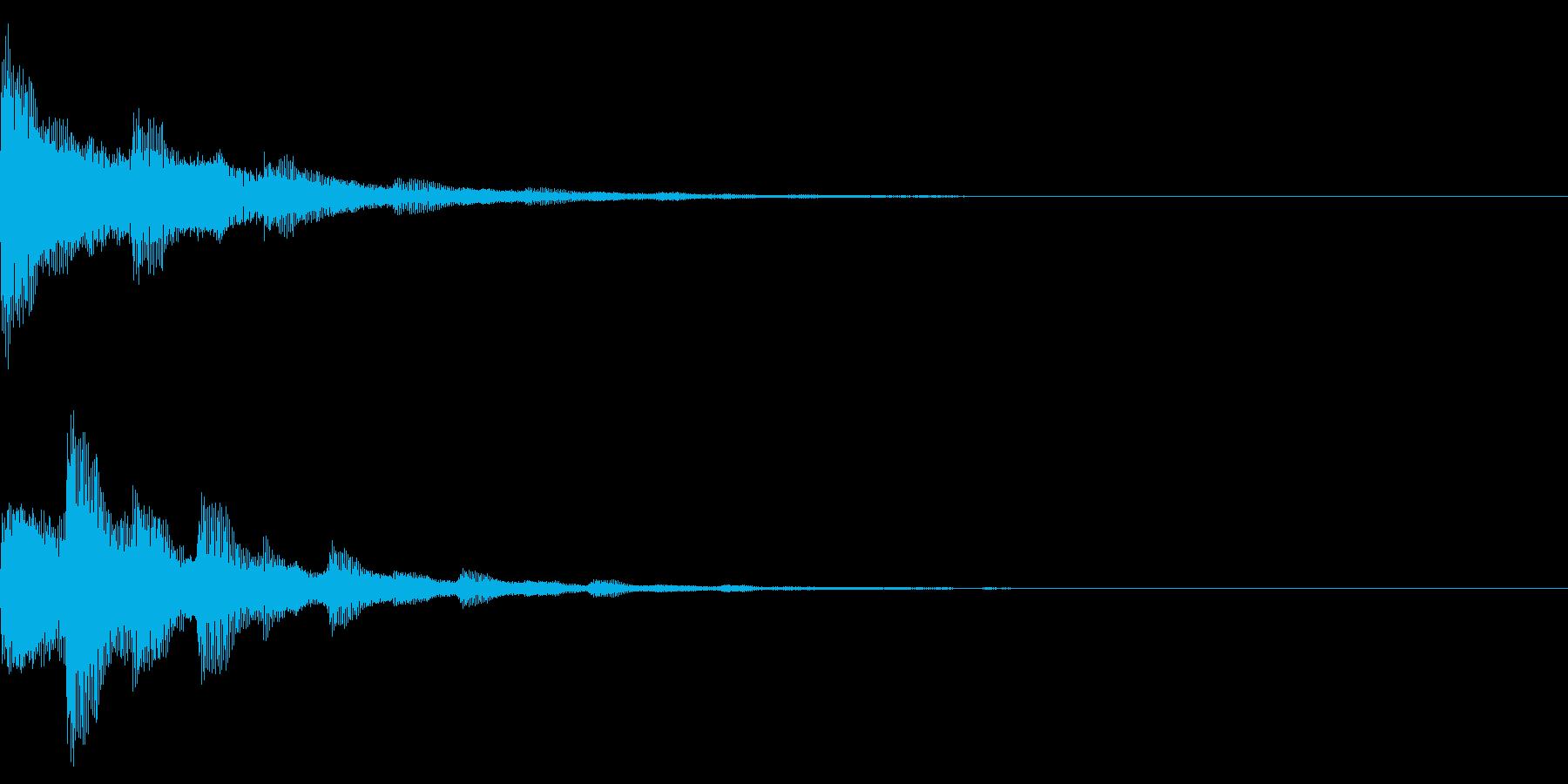 ピアノの響き 確信 可能性 希望 とーんの再生済みの波形