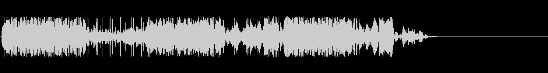 クレイジーラジオスタティックの未再生の波形