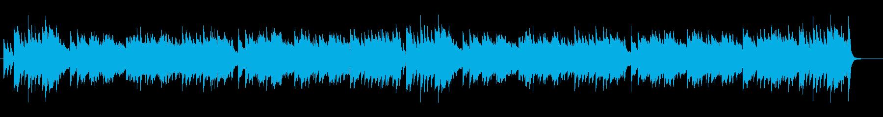 【童謡】かたつむり ピアノ演奏の再生済みの波形