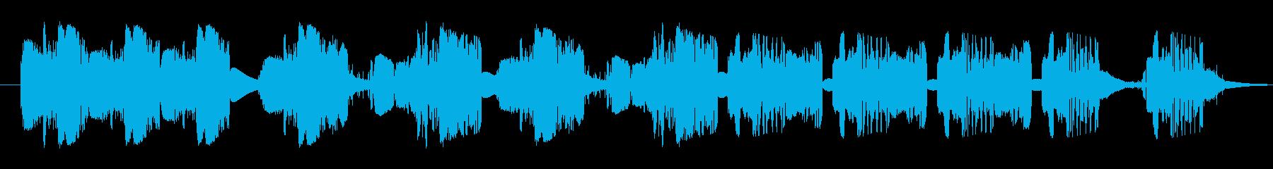ズーピング静的干渉スワイプ1の再生済みの波形