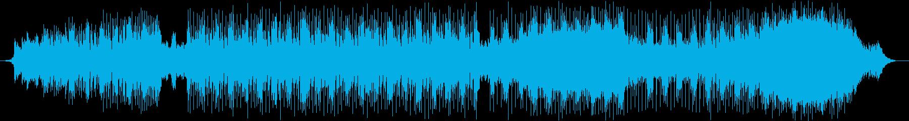 ビッグディストーションギターと催眠...の再生済みの波形