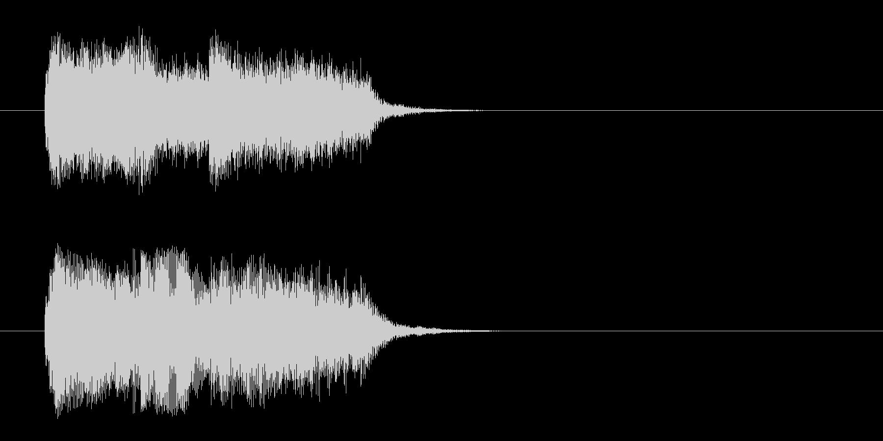 荘厳/登場シーン風クラシックのジングルの未再生の波形