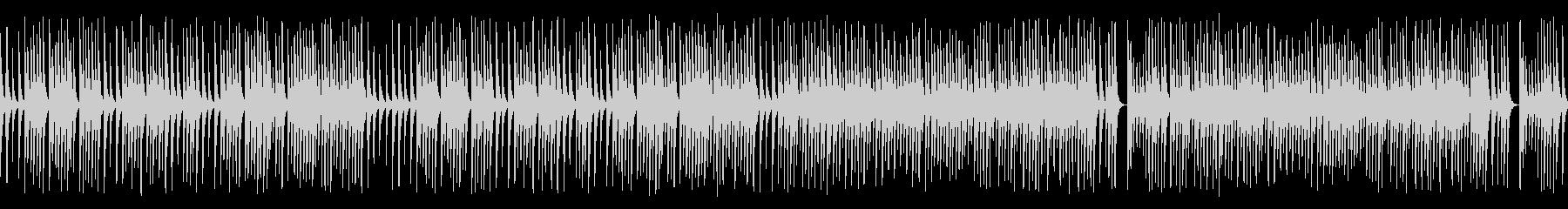 木琴がコロコロ可愛いジャズの名曲(ループの未再生の波形