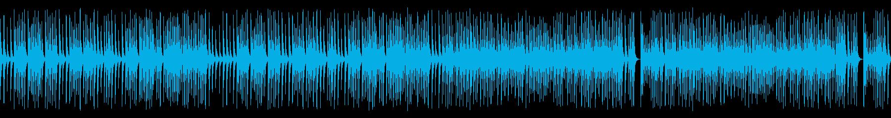 木琴がコロコロ可愛いジャズの名曲(ループの再生済みの波形