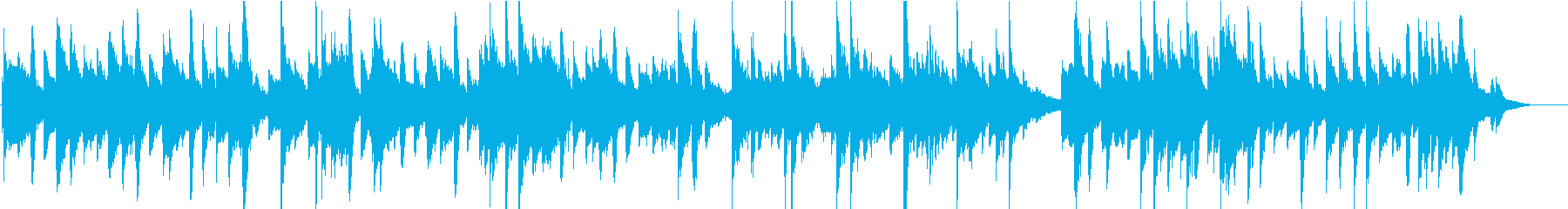 さわやかなしっとりアコギデュオのポップスの再生済みの波形