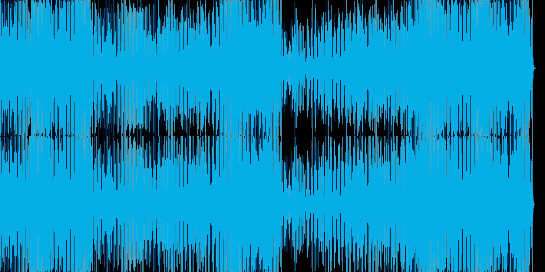お洒落で超絶かっこいいクラブ系ハウス音楽の再生済みの波形