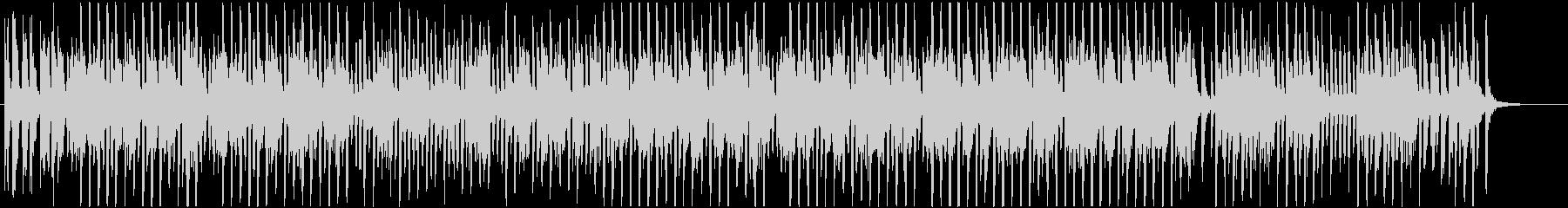 ラグタイムピアノの明るいBGMの未再生の波形
