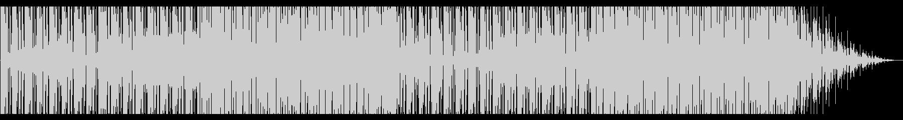 明るいピアノラウンジ_No406の未再生の波形