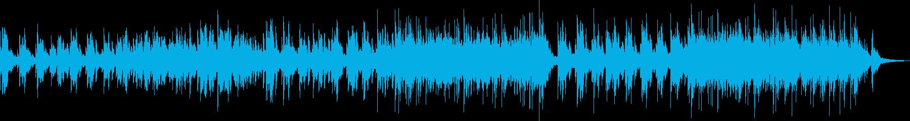 柔らかいタッチのピアノソロの再生済みの波形