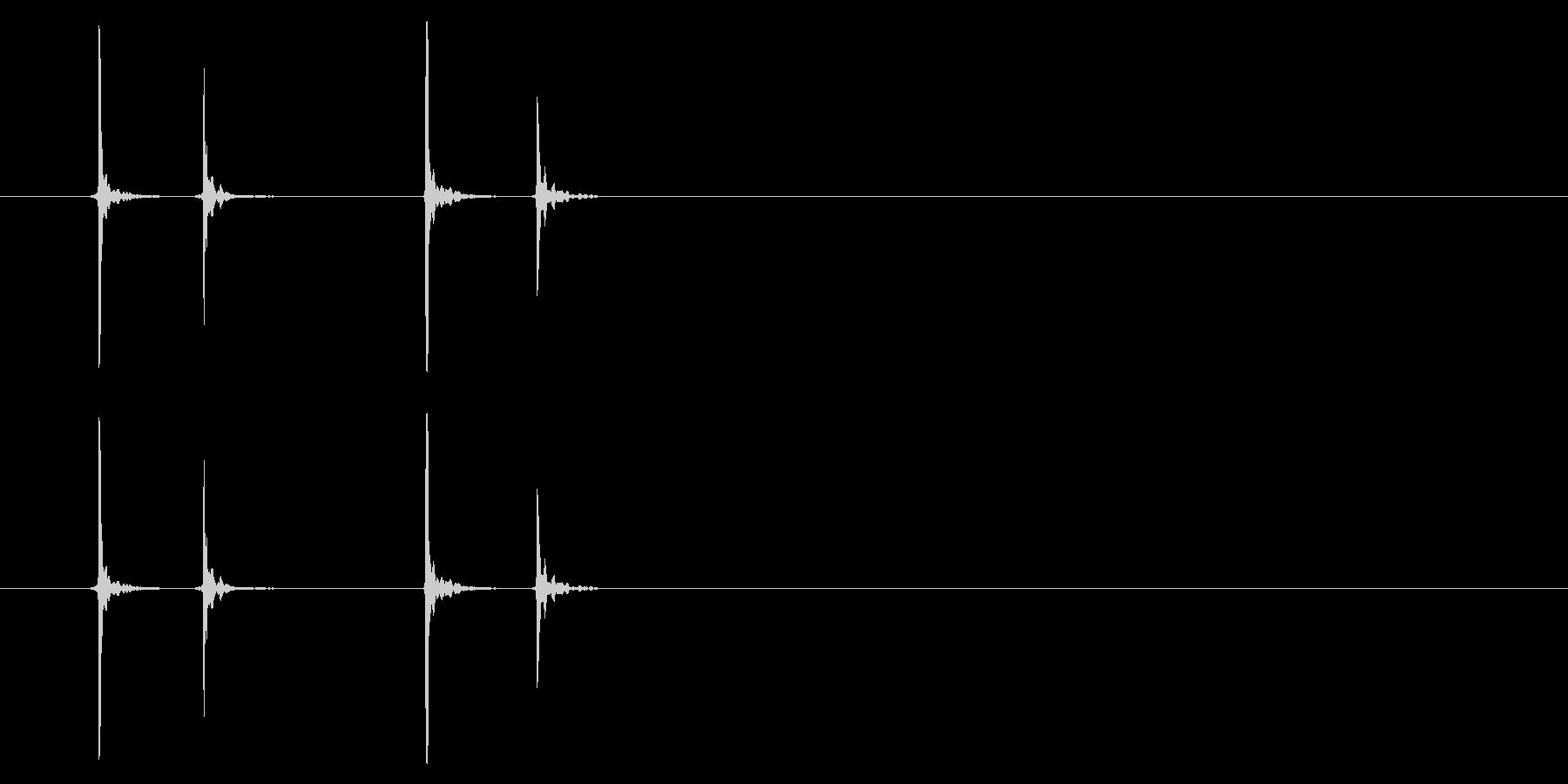 PC マウス02-04(左 ダブル)の未再生の波形