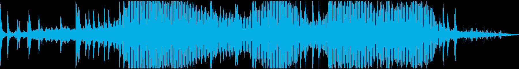 ホラーサウンドスケープ用のリバーブ...の再生済みの波形