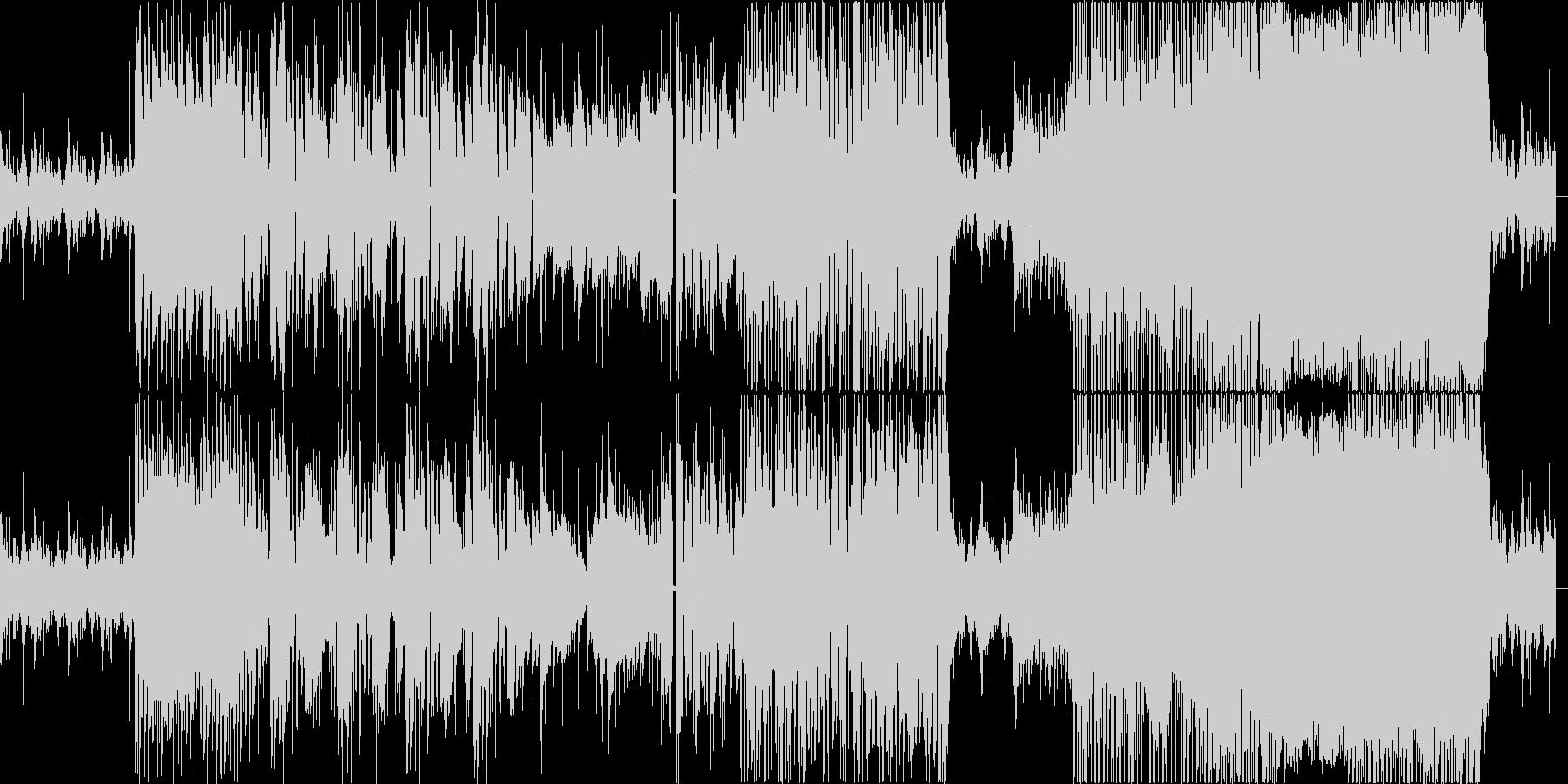 Hookの未再生の波形