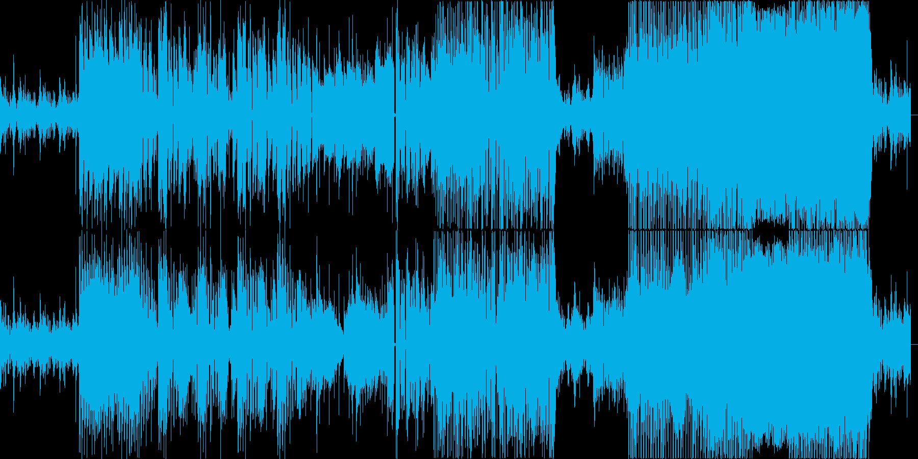 Hookの再生済みの波形