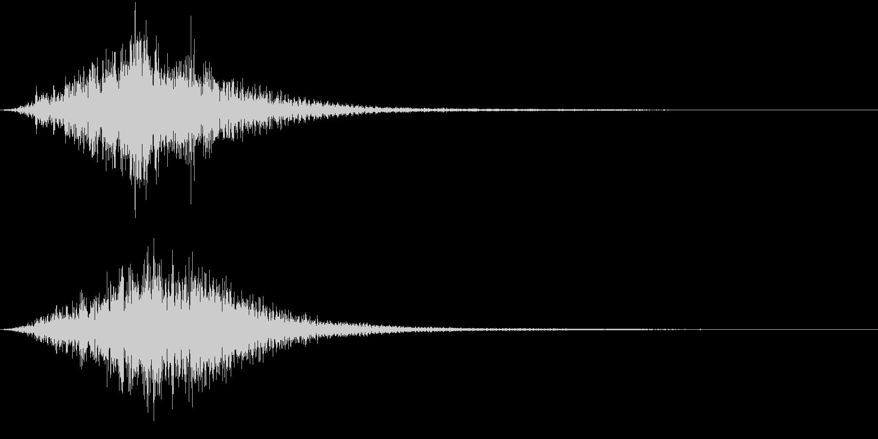 DARK AMBIENT HORRORの未再生の波形