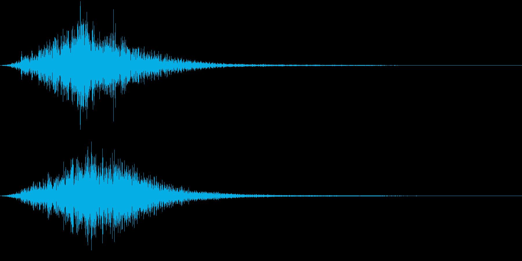 DARK AMBIENT HORRORの再生済みの波形