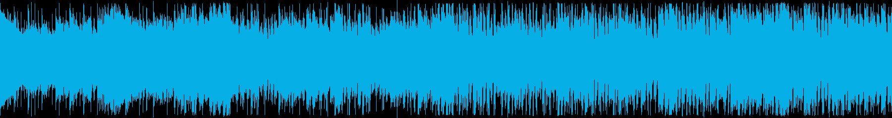 ループ/明るい散歩道風ポップスの再生済みの波形