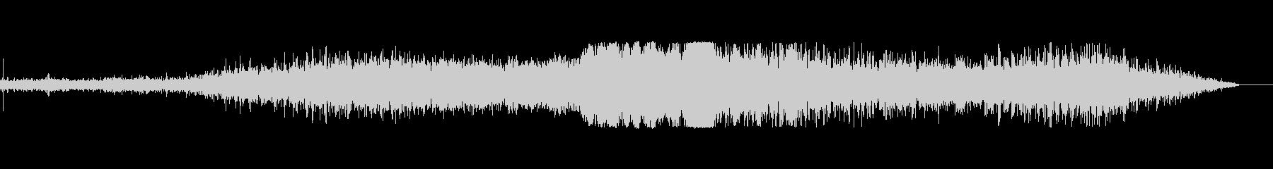 ジェットパススローロングテールの未再生の波形