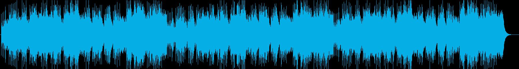 ロンドンデリーの歌オルゴールオーケストラの再生済みの波形
