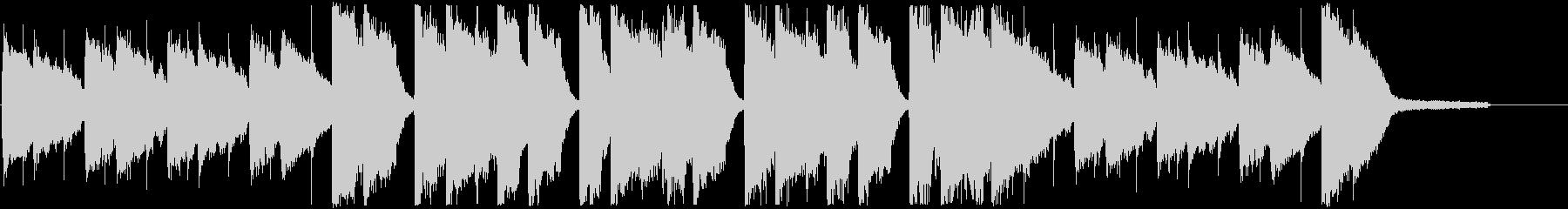 CM・秋の優しい夕焼けポップの未再生の波形